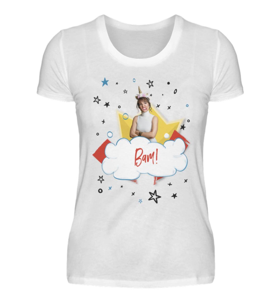 Bam! - Follow Marnie Fan-Shirt - Deutsch - Damenshirt-3