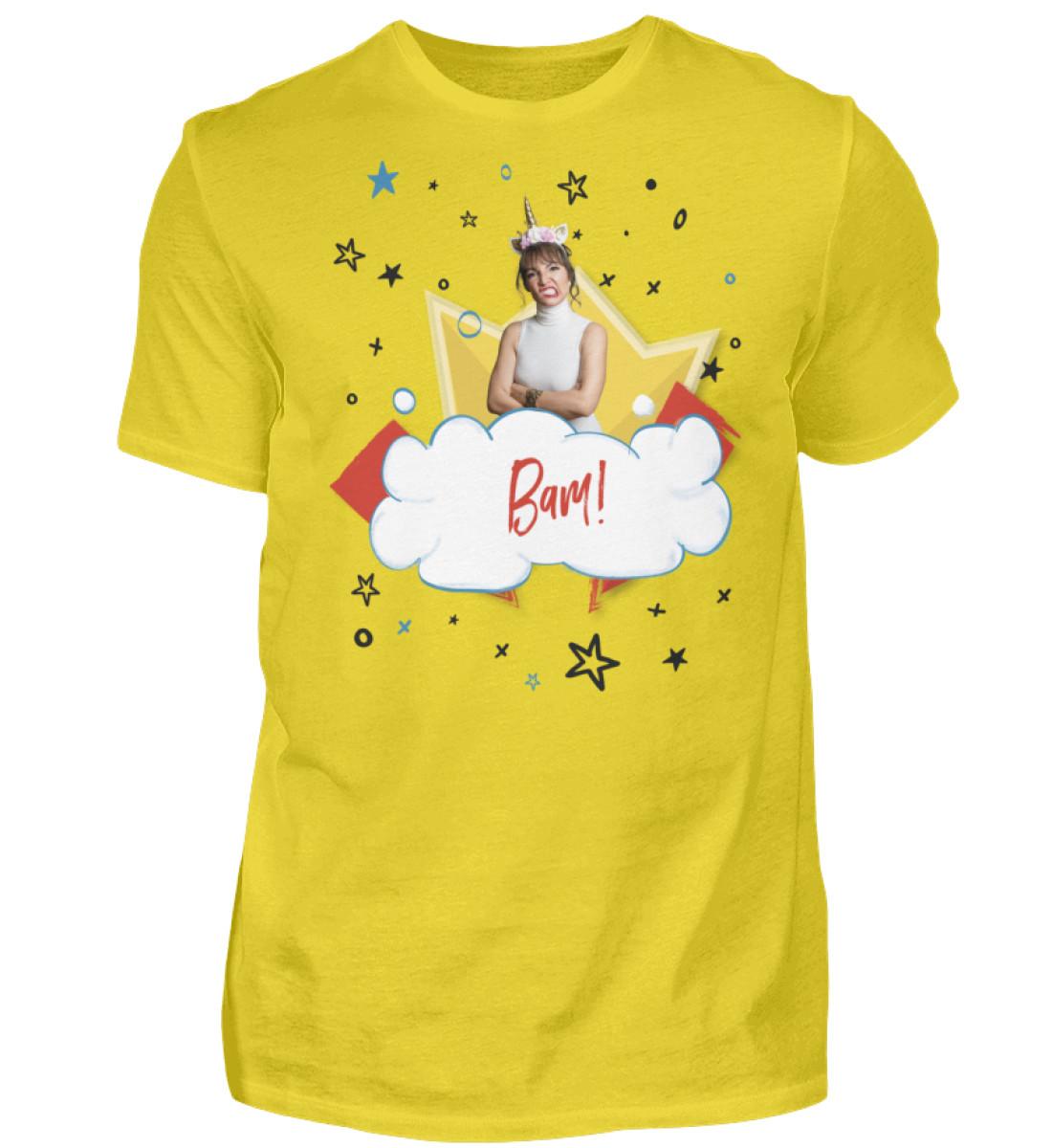 Bam! - Follow Marnie Fan-Shirt - Deutsch - Herren Shirt-1102