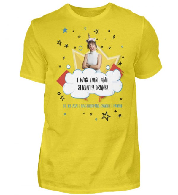 I was there and slightly drunk - Herren Shirt-1102