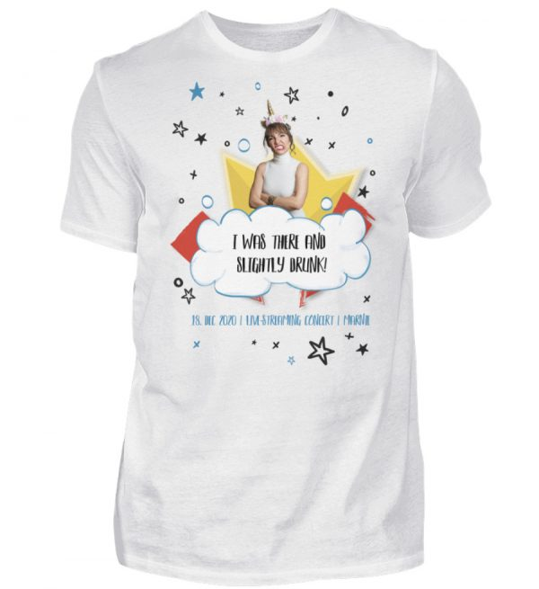 I was there and slightly drunk - Herren Shirt-3